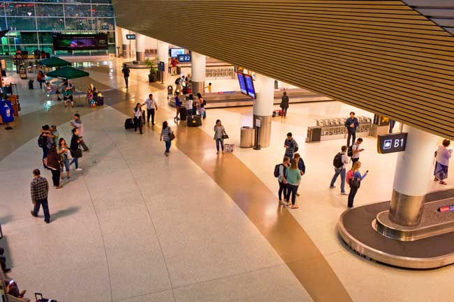 San Jose Airport serves both international and national flights.