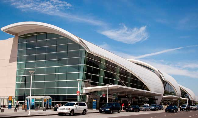 San Jose airport is formed by two passenger terminals, Terminal A and Terminal B.