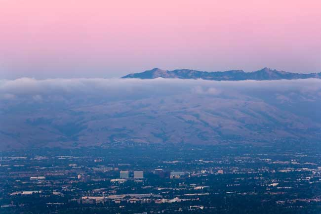 San Jose is located in Silicon Valley, the world high tech and internet industries capital.
